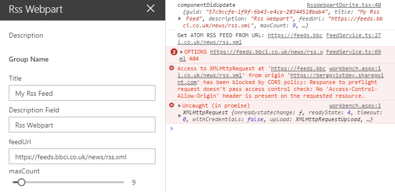 RSS in SharePoint with your own RSS ATOM Proxy Azure Function
